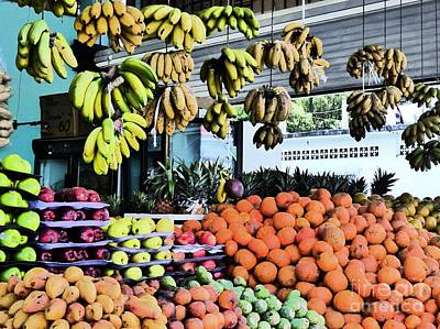 Photograph - Zihuatanejo Market by Rosanne Licciardi