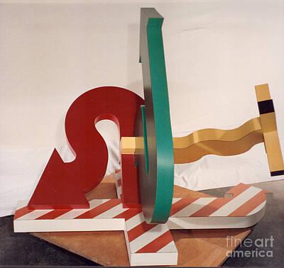 Sculpture - Zing Sig  by Robert F Battles