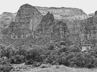 Photograph - Zion Canyon 2 by Dan Miller