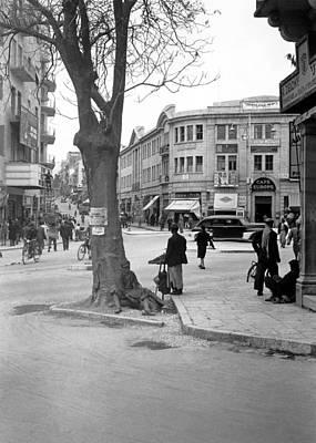 Photograph - Zion Circle 1940 by Munir Alawi