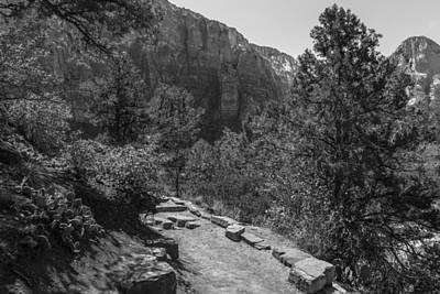 Photograph - Zion In Back And White  by John McGraw
