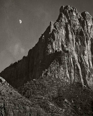 Zion Moonrise Art Print by Mike McMurray