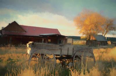 Zion Mountain Ranch Print by Jim Cook