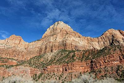 Photograph - Zion National Park - 2 by Christy Pooschke