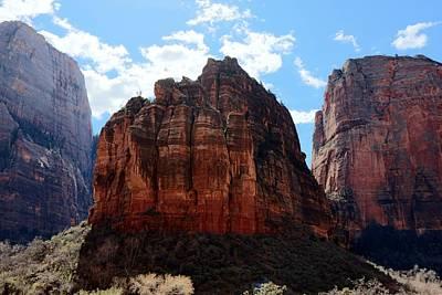 Photograph - Zion National Park - 5 by Christy Pooschke