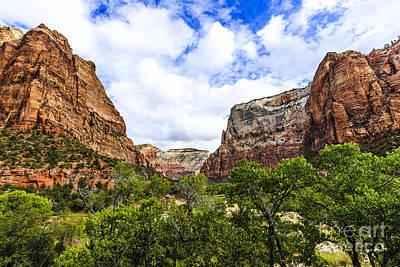 Photograph - Zion National Park by Ben Graham