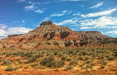 Photograph - Zion National Park Buttes by Ginger Wakem