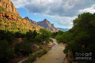 Photograph - Zion National Park by Diane Diederich