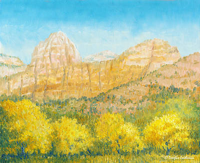 Painting - Zion National Park by Douglas Castleman