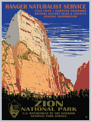 Painting - Zion National Park by Gary Grayson