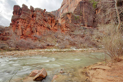 Photograph - Zion National Park by Gerry Sibell