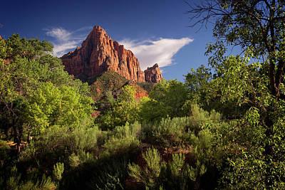 Photograph - Zion National Park Iv by Ricky Barnard