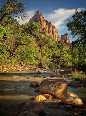 Photograph - Zion National Park Ix by Ricky Barnard