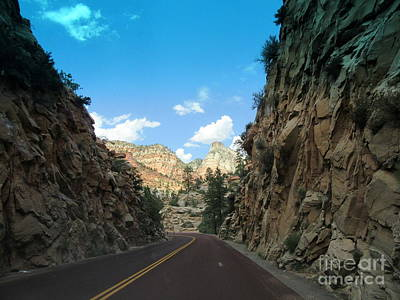 Photograph - Zion National Park   by Marlene Rose Besso
