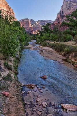Photograph - Zion National Park by Peggy Hughes