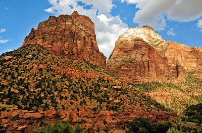 Photograph - Zion National Park Red Rocks by Ginger Wakem