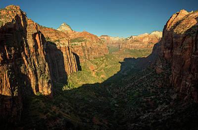 Photograph - Zion National Park by Ricky Barnard