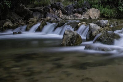 Photograph - Zion National Park River 1 by John McGraw
