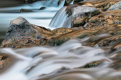 Photograph - Zion National Park River Rapids 2 by John McGraw