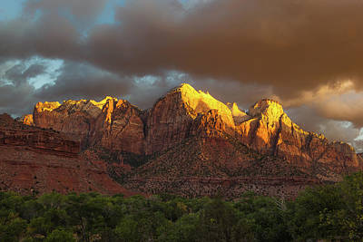Photograph - Zion National Park Sunrise by Jay Moore