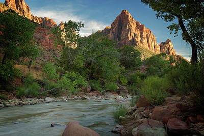 Photograph - Zion National Park Vi by Ricky Barnard