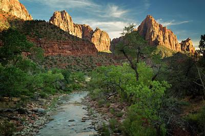 Photograph - Zion National Park Vii by Ricky Barnard