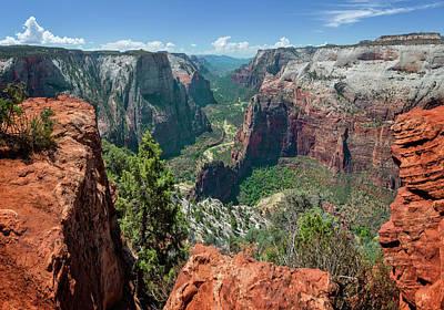 Photograph - Zion National Park Viii by Ricky Barnard