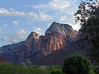 Photograph - Zion Np 6 by Jeff Brunton