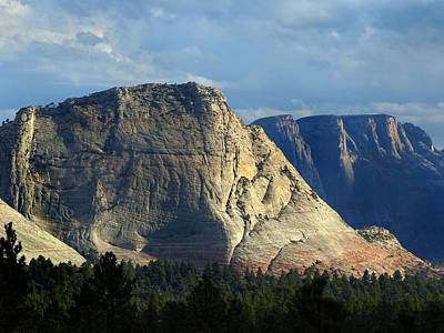 Photograph - Zion Np Kolob Plateau 41 by Jeff Brunton