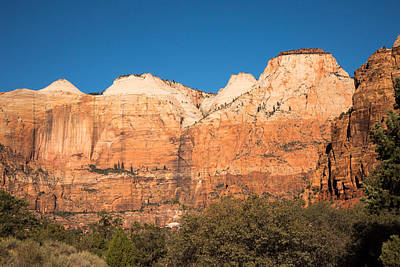 Photograph - Zion N.p. Southern Entrance by Michael Gooch