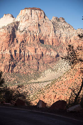 Photograph - Zion N.p. View From The South End Of The 1.1 Mile Tunnel by Michael Gooch