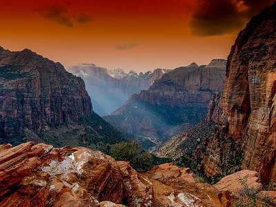 Photograph - Zion Park 1 by Michael Damiani