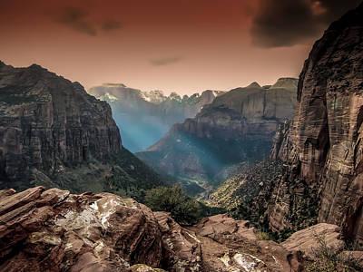 Photograph - Zion Park 2 by Michael Damiani