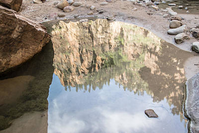 Photograph - Zion Reflection by John McGraw