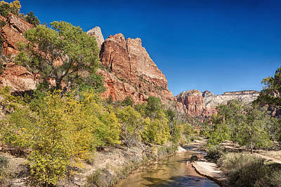 Photograph - Zion Serenity by John M Bailey