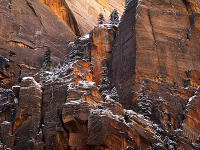 Photograph - Zion Staircase  by Dustin LeFevre