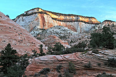 Photograph - Zion Sunrise by Ed  Riche