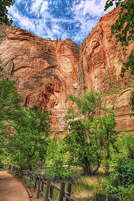 Photograph - Zion Surreality by John M Bailey