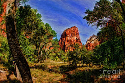 Photograph - Zion Tranquility by Blake Richards