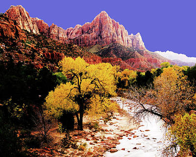 Photograph - Zion's Watchman by Norman Hall
