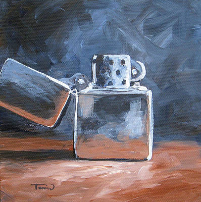 Realism Photograph - Zippo Lighter by Torrie Smiley