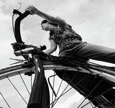 Girl Photograph - Zlatina by Emil Bodourov