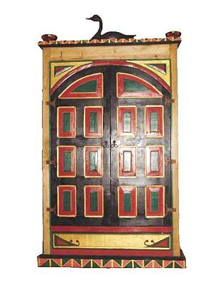Greeting Card - Zodiac Armoire - Front Closed by Rae Chichilnitsky