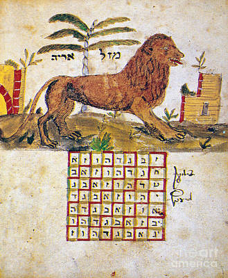 Photograph - Zodiac Sign: Leo, 1716 by Granger