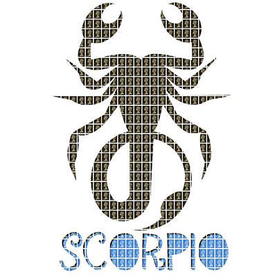 Signs Of The Zodiac Digital Art - Zodiac Sign - Scorpio by Gary Hogben