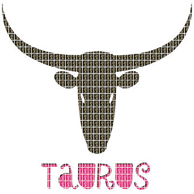 Signs Of The Zodiac Digital Art - Zodiac Sign - Taurus by Gary Hogben