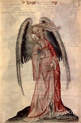 Photograph - Zodiac: Virgo The Virgin by Granger