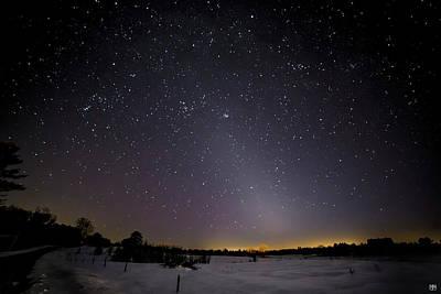 Photograph - Zodiacal Light by John Meader