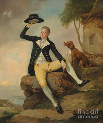 Patrick Painting - Zoffany by Celestial Images