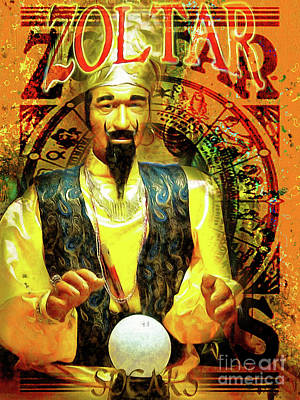 Photograph - Zoltar Speaks Fortune Teller 20161108v3 by Wingsdomain Art and Photography